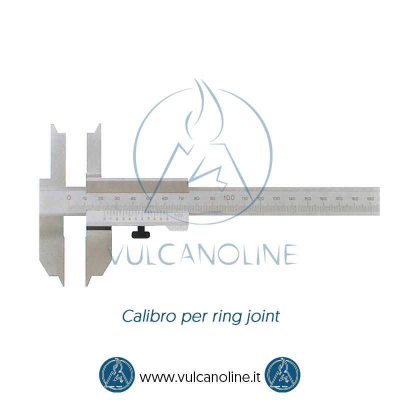 Taratura calibro per ring joint