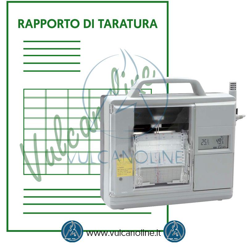 Taratura termoigrografo