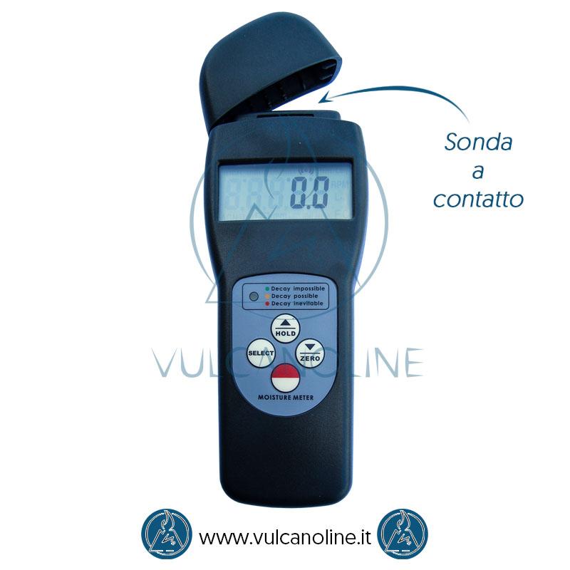 Sonda a contatto igrometro per materiali
