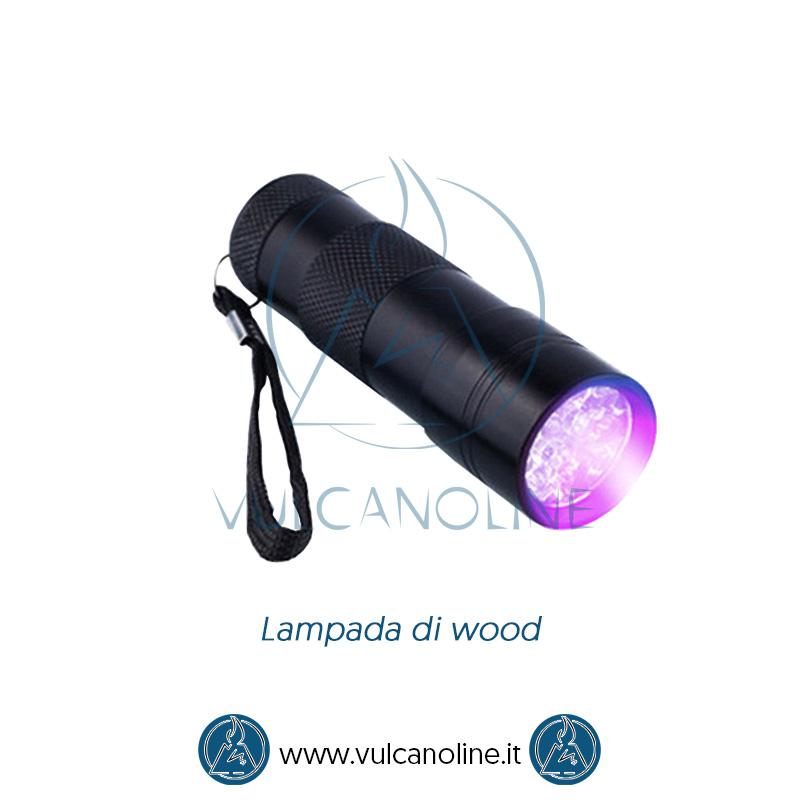 Taratura lampada di wood