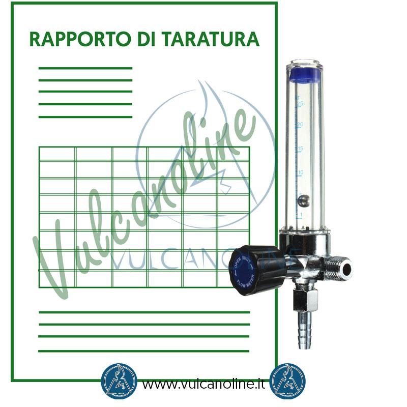 Taratura flussimetro