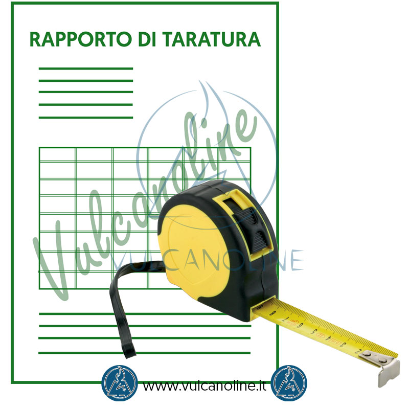 Taratura flessometro - rotella metrica - bindella metrica