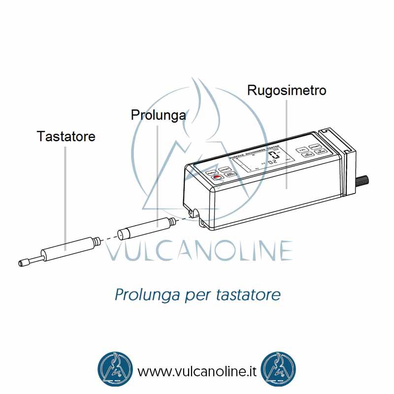 Utilizzo prolunga per tastatore per rugosimetri