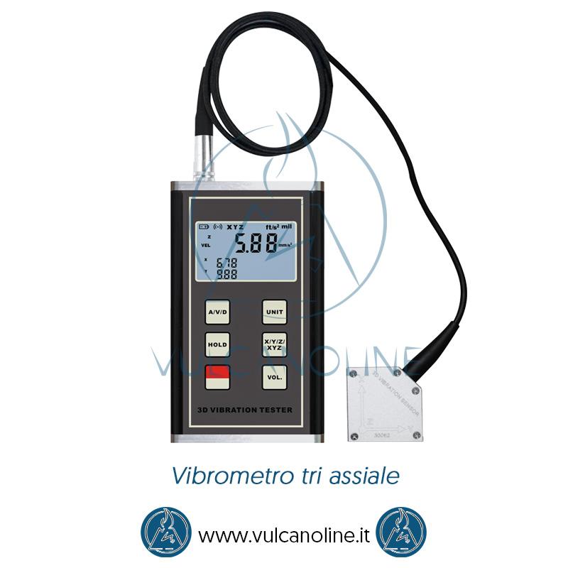 Taratura vibrometro