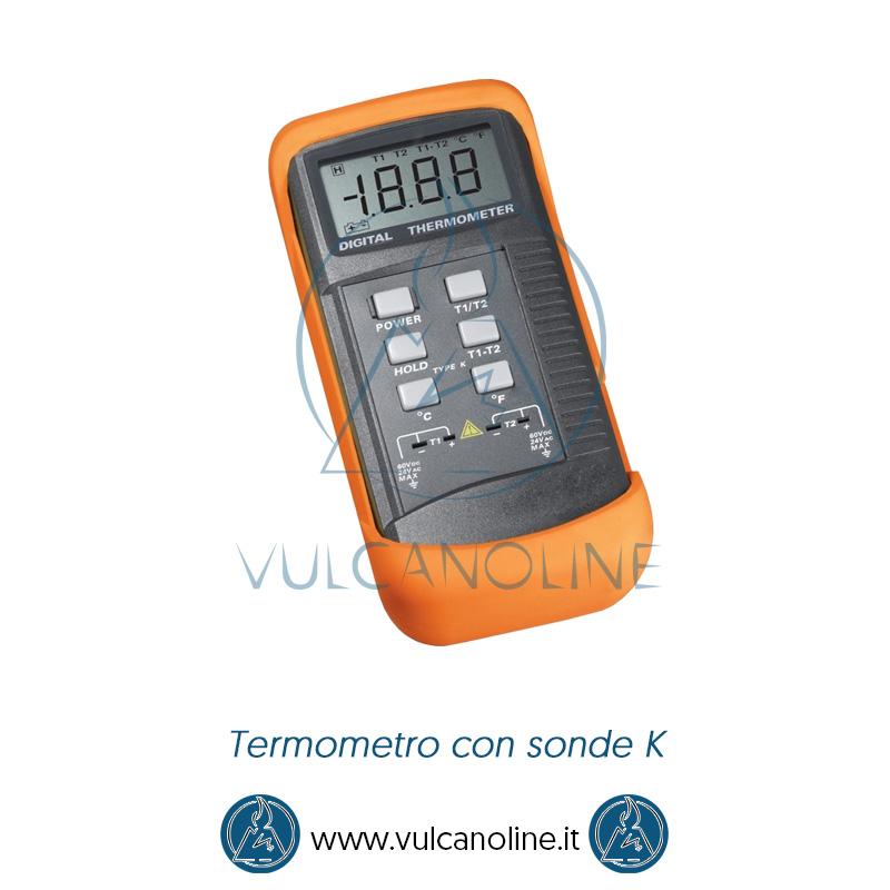 Taratura termometro con sonde