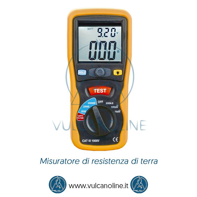 Taratura misuratore di resistenza di terra