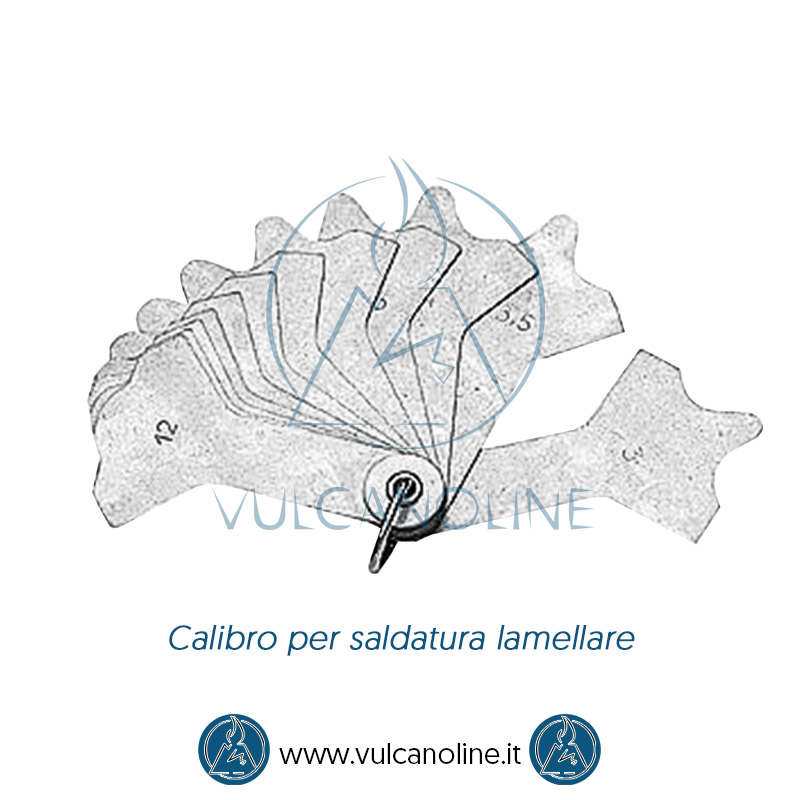 Calibro per saldature con lame