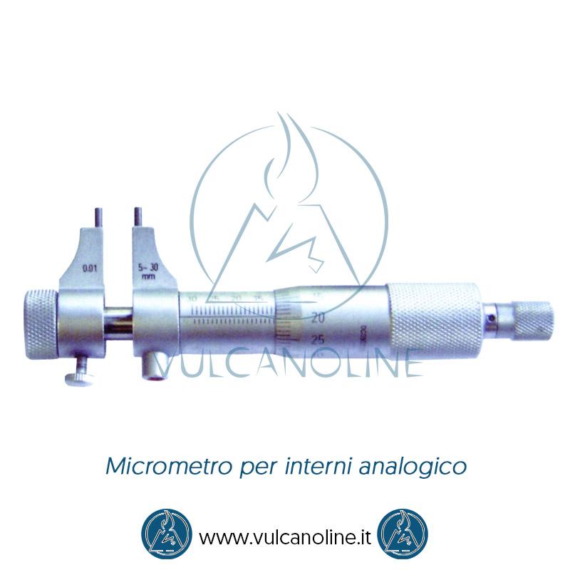 Taratura micrometro per interni