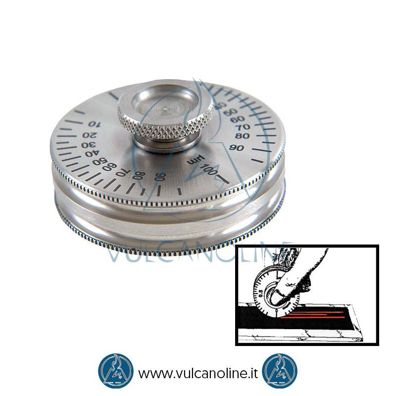 Spessimetro per film umido a rotella