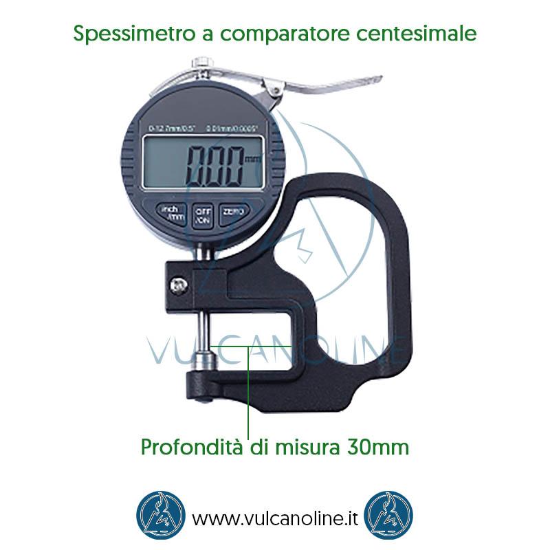 Misure spessimetro a comparatore centesimale