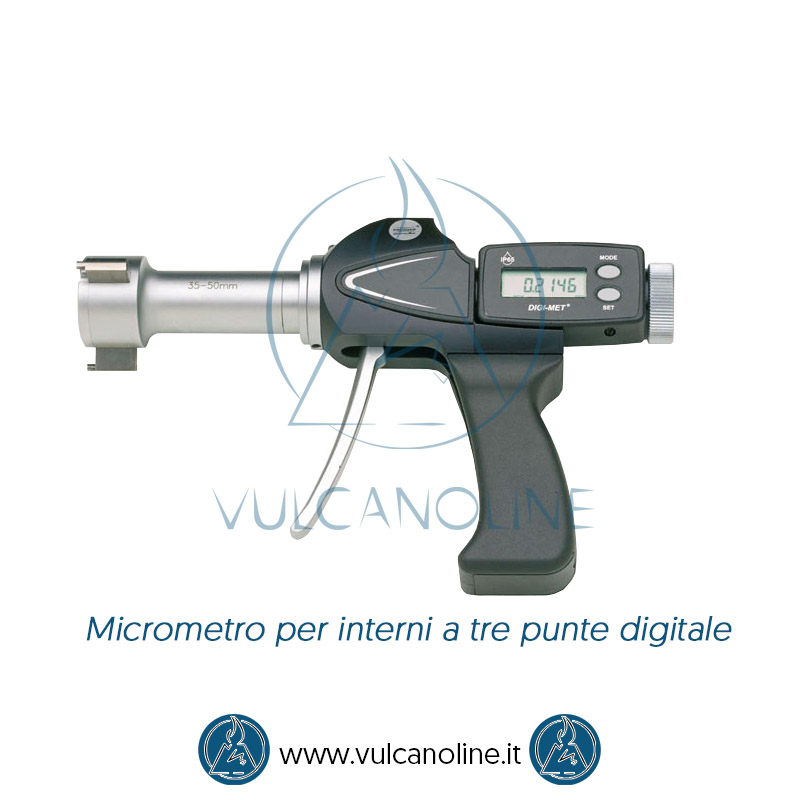 Taratura micrometro per interni a tre punte