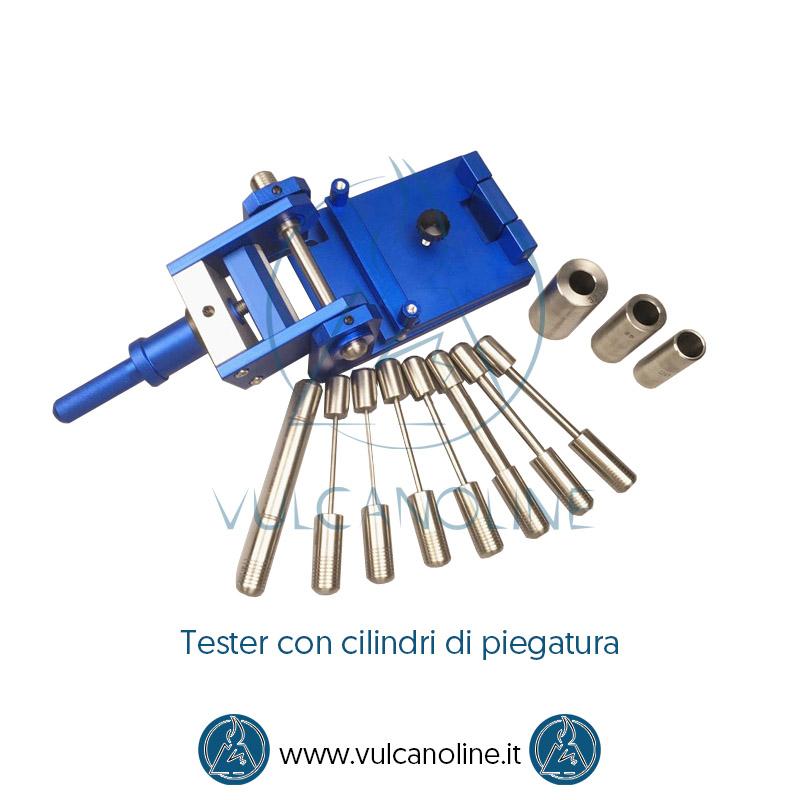Mandrino cilindrico per test di piegatura
