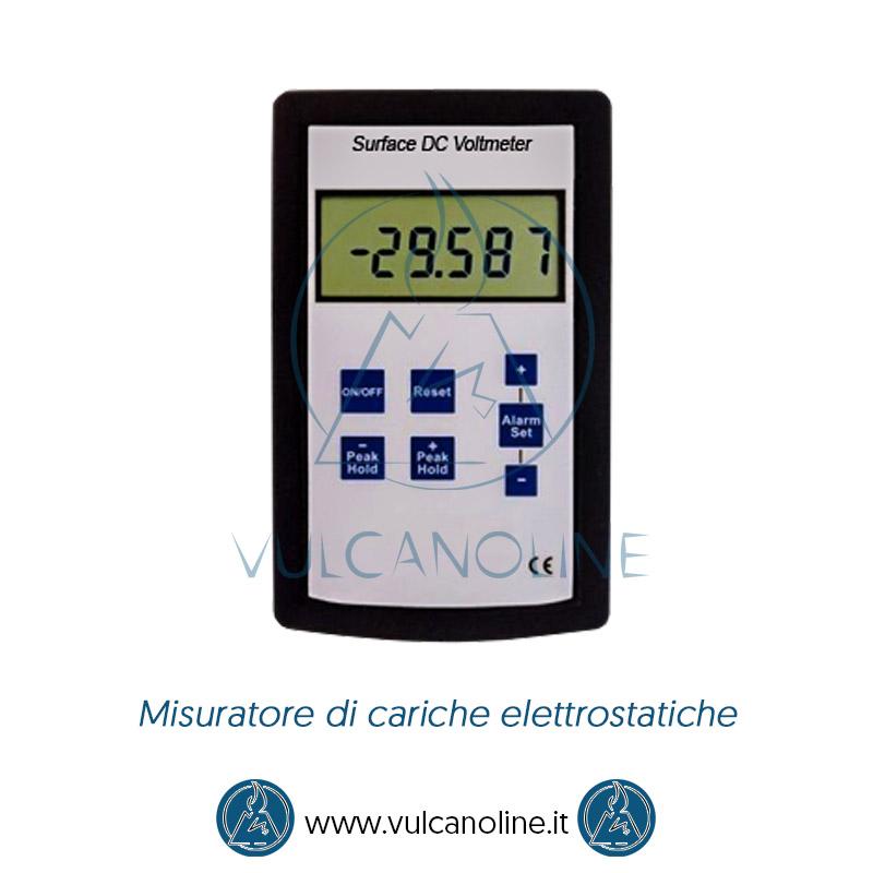 Taratura misuratore di cariche elettrostatiche