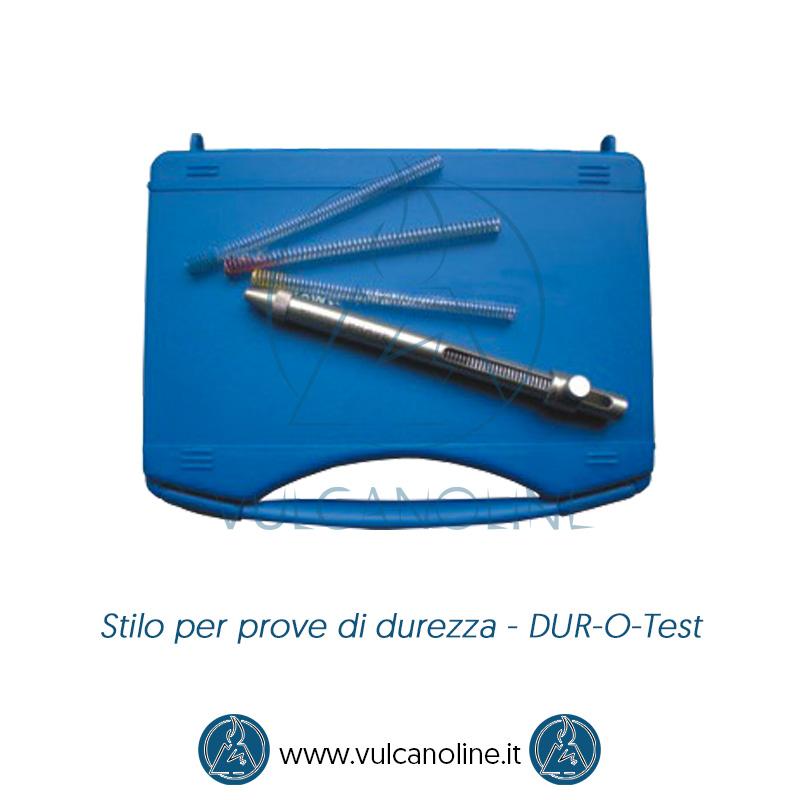 Taratura stilo per prove di durezza - DUR-O-Test