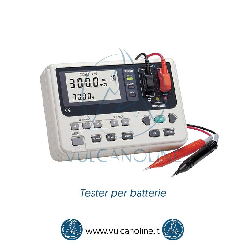 Taratura tester per batterie