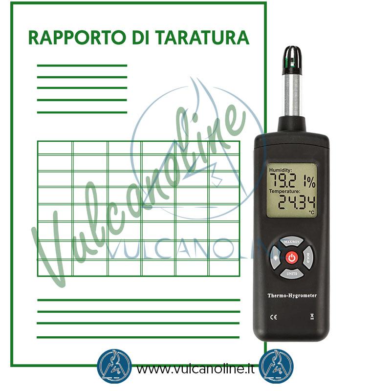 Taratura termoigrometro