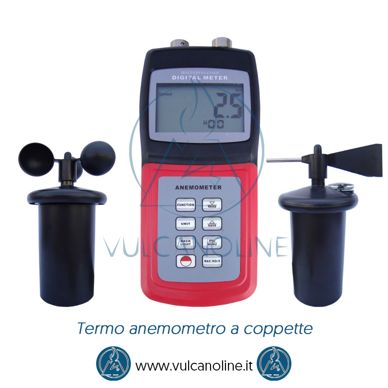 Taratura anemometro