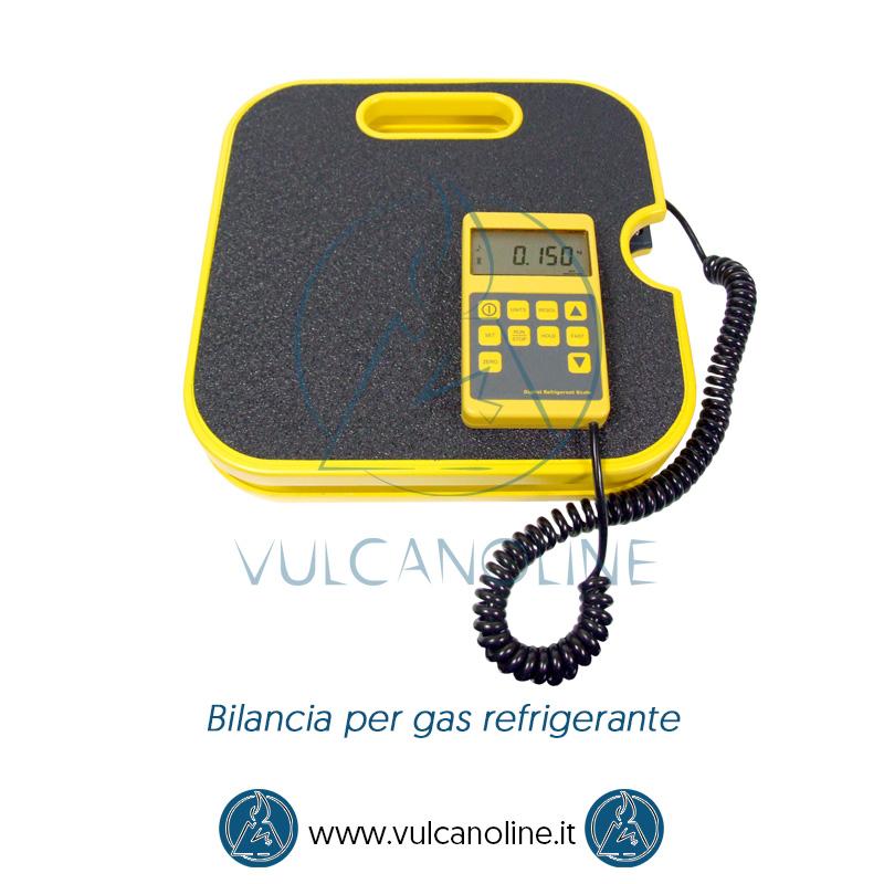 Taratura bilancia per gas refrigerante