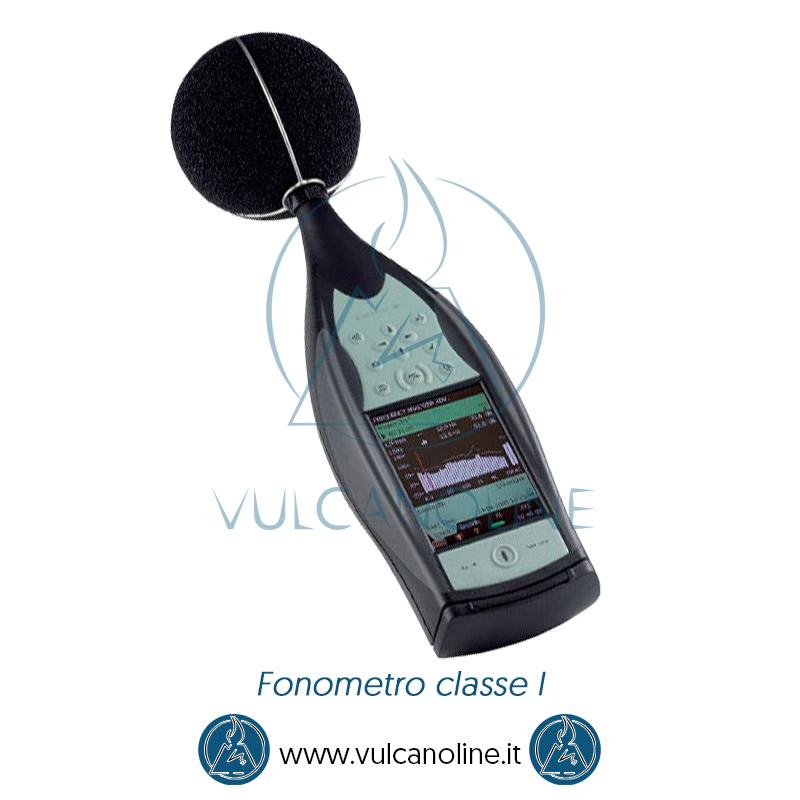 Certificato di taratura Accredia per fonometro