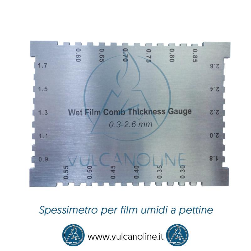 Taratura misuratore di strati per film umidi
