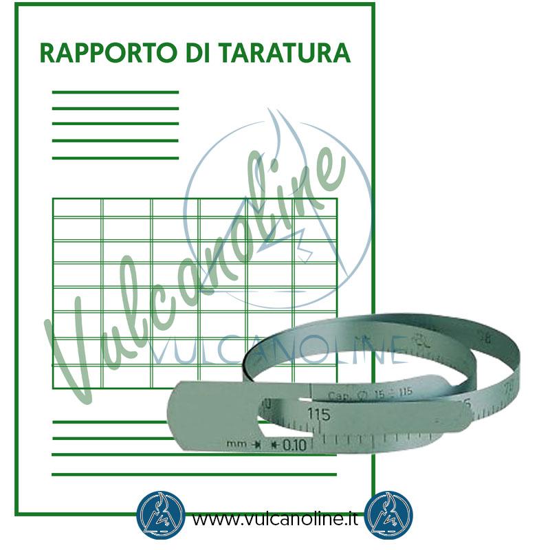 Taratura diametrometro