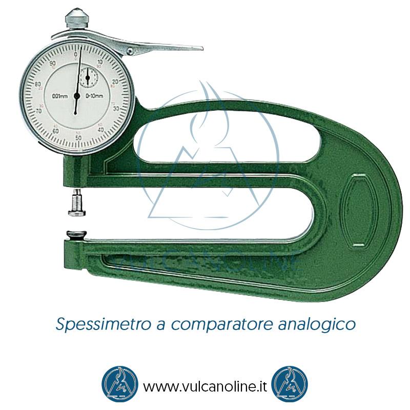 Taratura spessimetro a comparatore