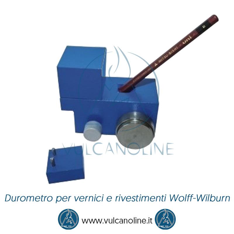 Taratura durometro per vernici e rivestimenti Wolff-Wilburn