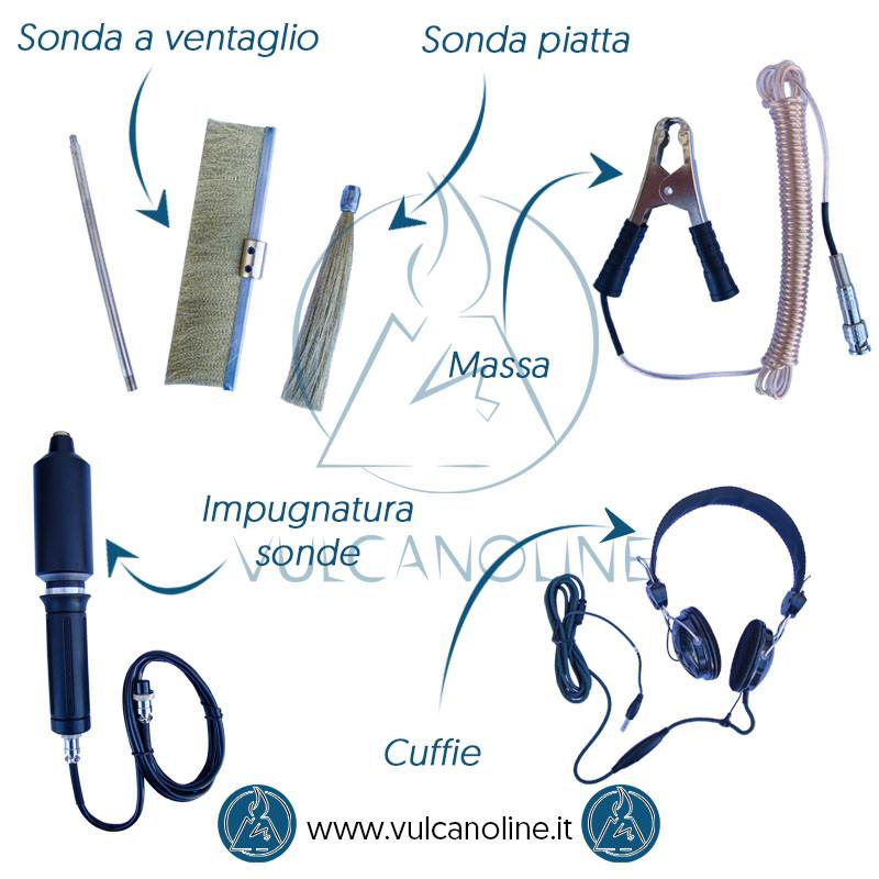 Accessori scintillografo