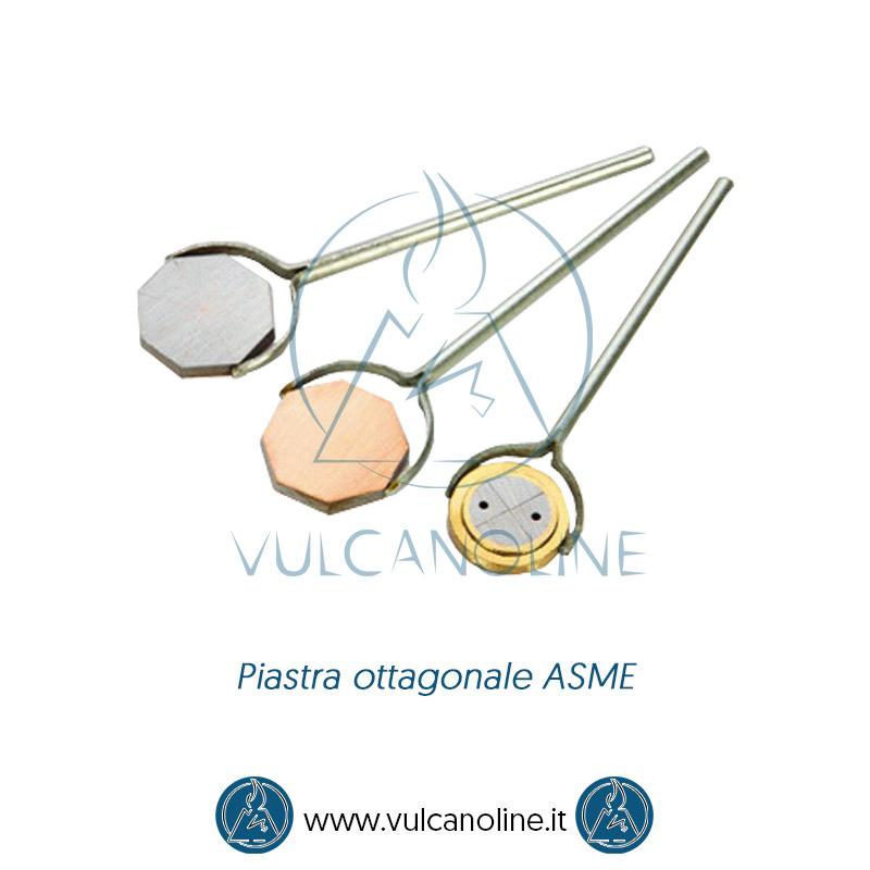 Taratura piastra ottagonale ASME