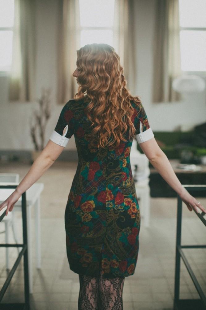 Foto: Tobias Urban ; Model: Jana ; Styling/Haare: ich
