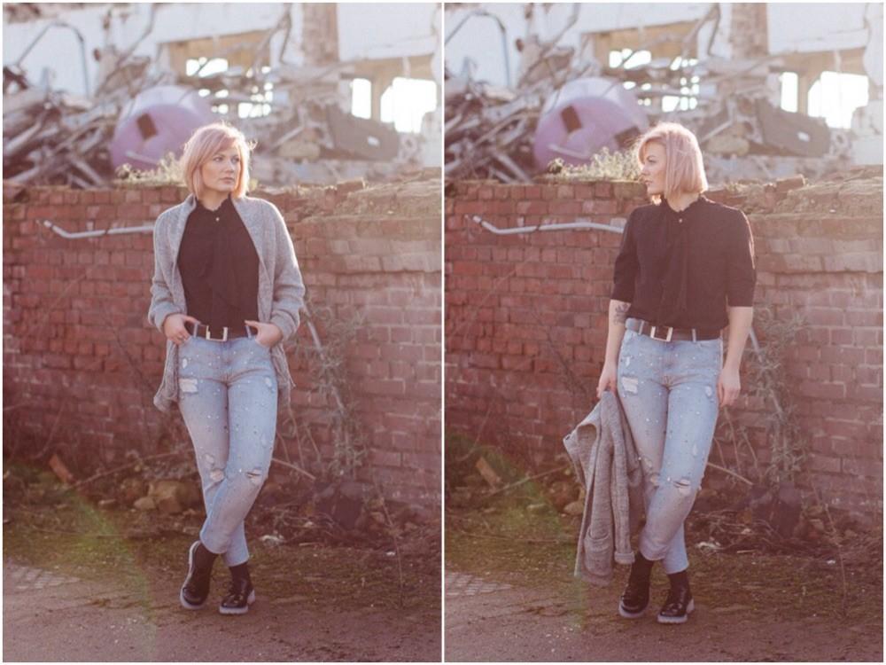 Hose und Schuhe : H&M ; Bluse : LiebeskindBerlin
