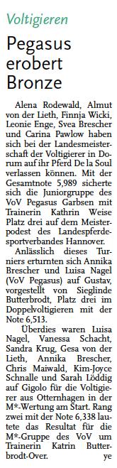 Leine-Zeitung, 30.06.2015