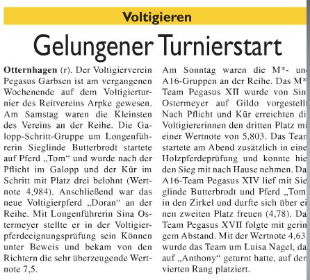 Neustaedter Zeitung, 30.07.2014