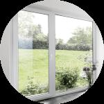 Fenster im Architektenhaus