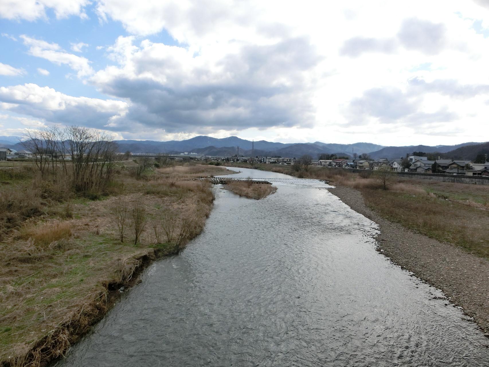 H28.3.14 15時 越前市 日野大橋上流