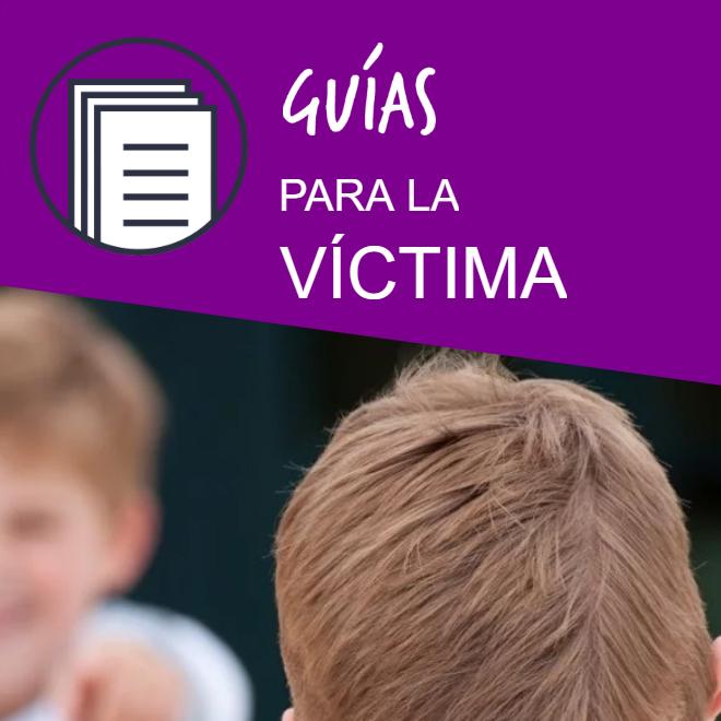 Guía de actuación para víctimas de bullying