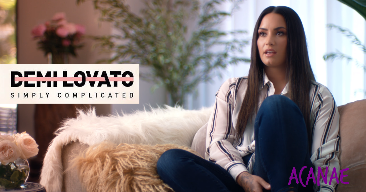 Demi Lovato Simply Complicated documental en español en el que relata como sufrió bullying en su infancia