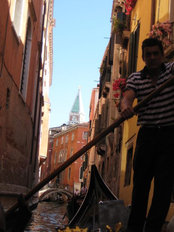 We took a Gondola....