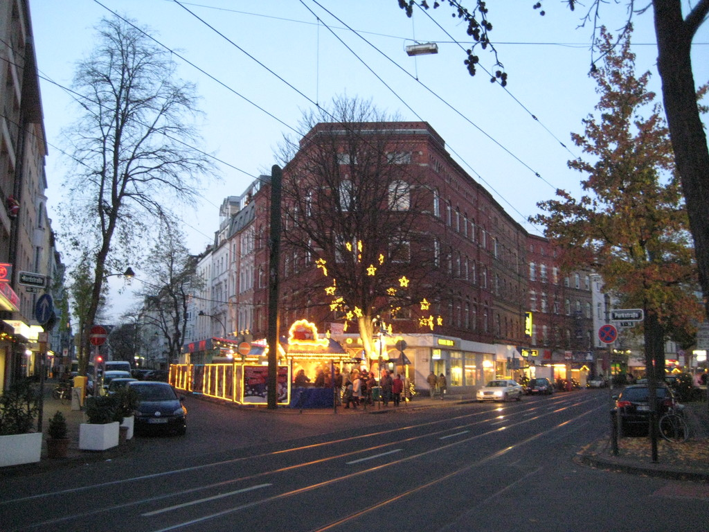 "November 2010, Christmas Markt started at ""Nordstrasse"""