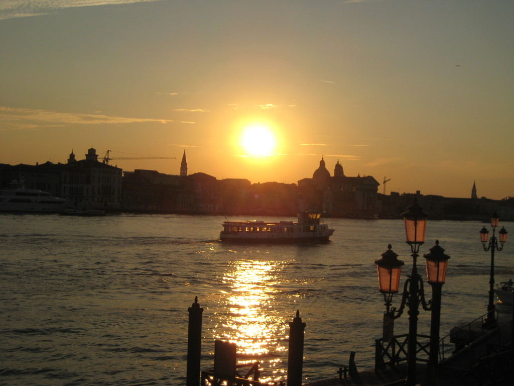 Sunset at Venice.