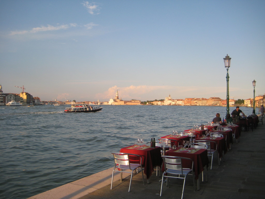 Giudecca island is one of silent island around Venice main island.