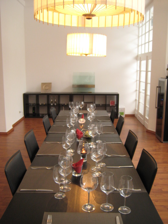 With dining space