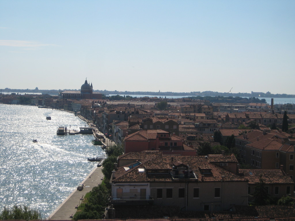Giudecca island. View from Hilton Molino Stucky