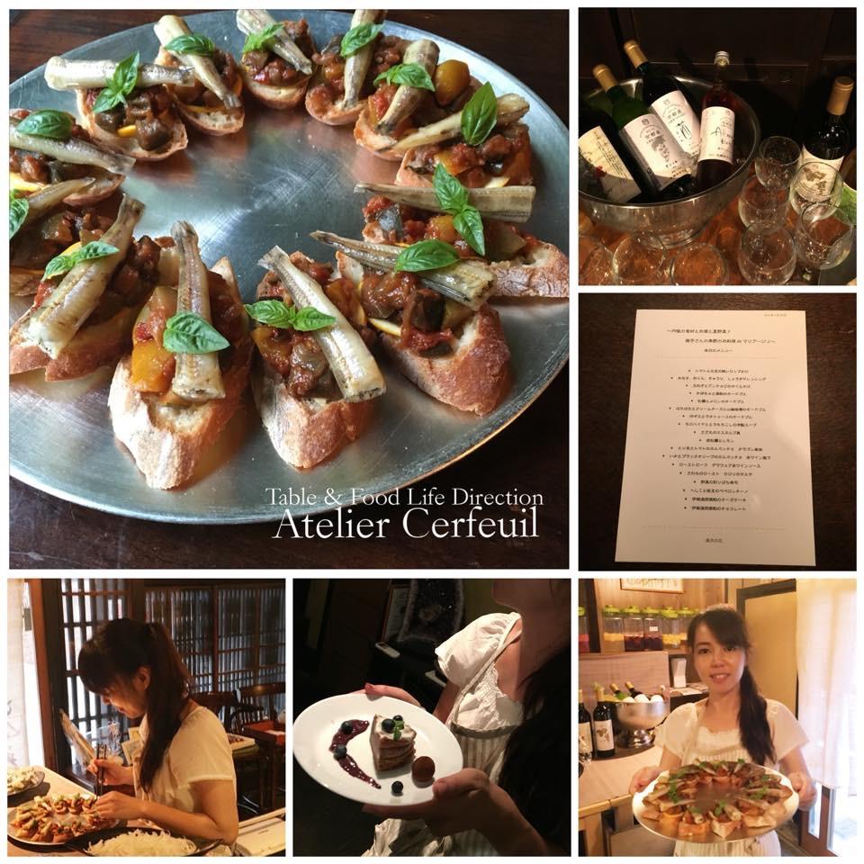 京都丹後地方の食材とお酒のマリアージュ会