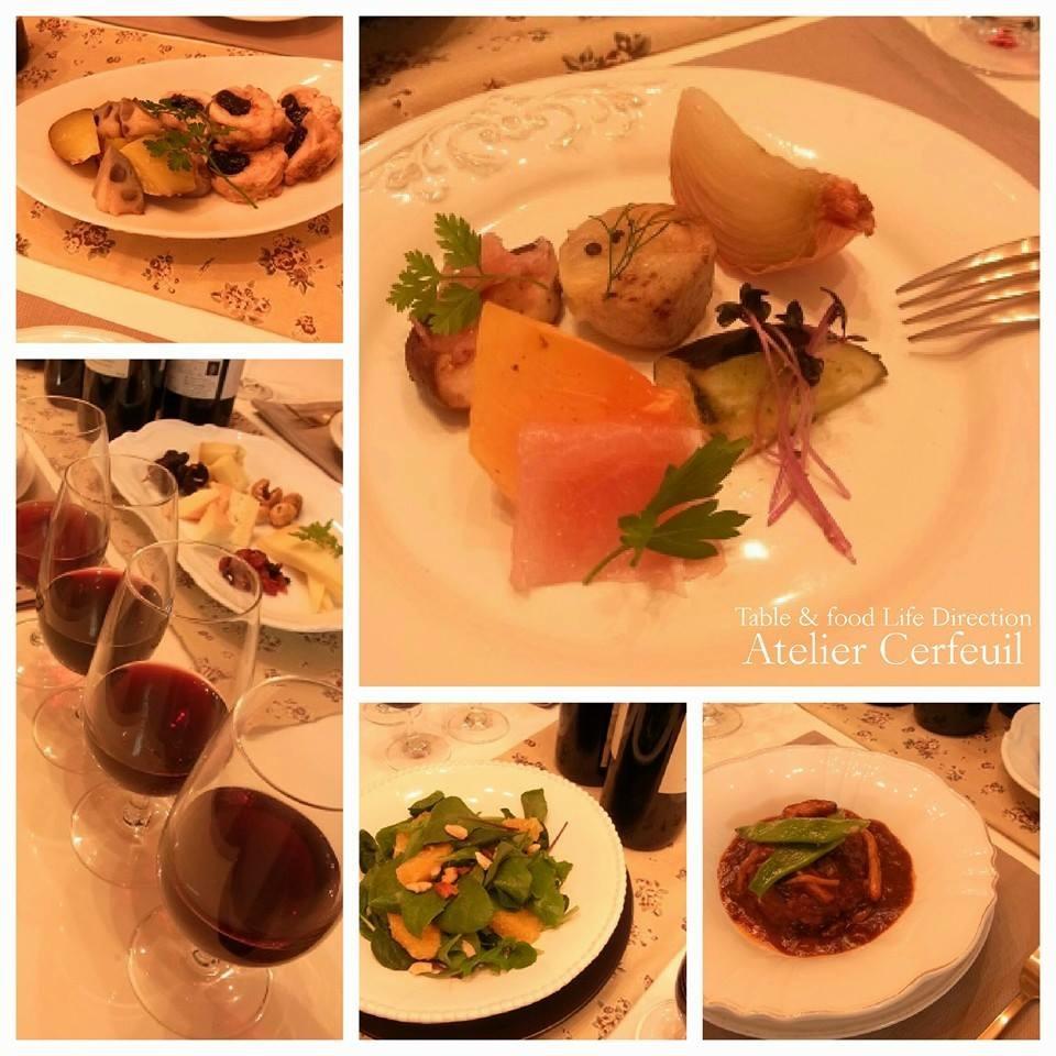 季節の野菜料理とワインのマリアージュ講座