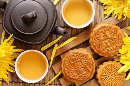 tee, tassen, teekanne, kekse