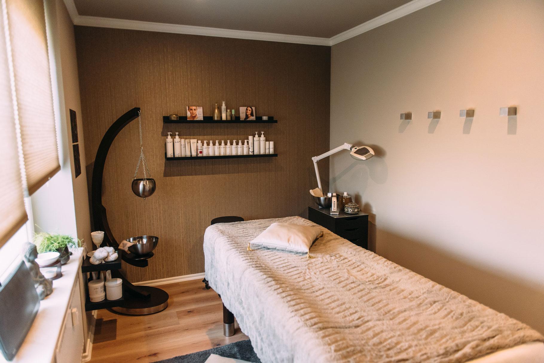 Massage und Kosmetikraum