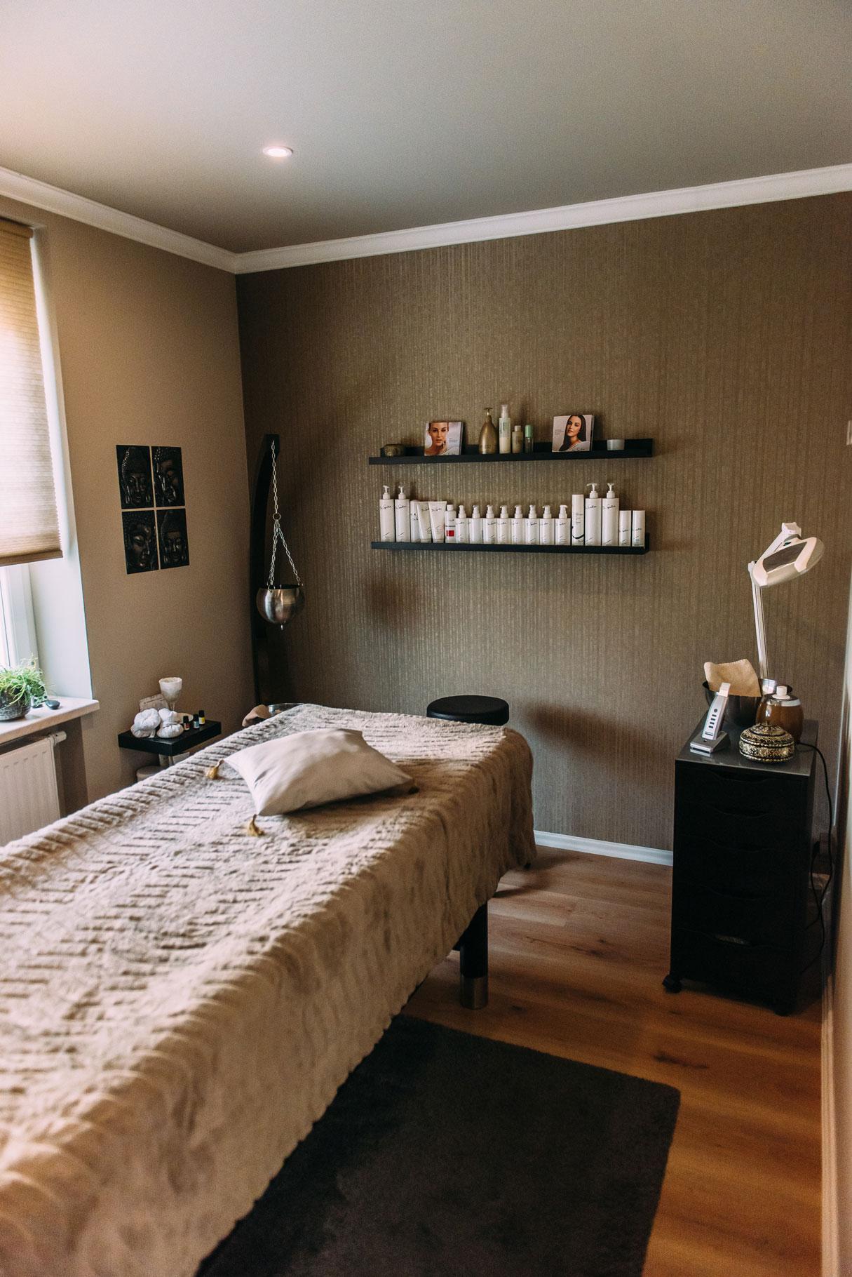 Massage und Entspannungsraum