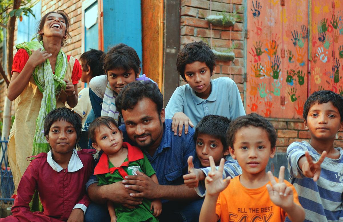Würzburger Weihnachtseuro: 17.000€ für Straßenkinder in Bangladesh