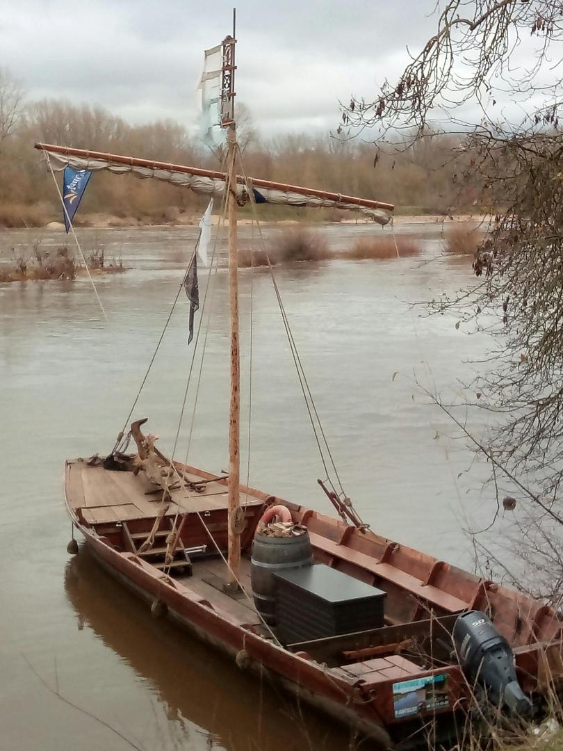 Passage de la Loire par les mariniers